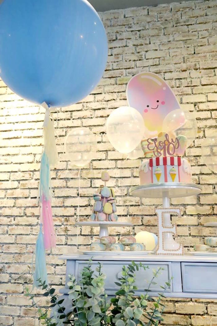 Sweet table from a Popsicle Birthday Party on Kara's Party Ideas | KarasPartyIdeas.com (7)