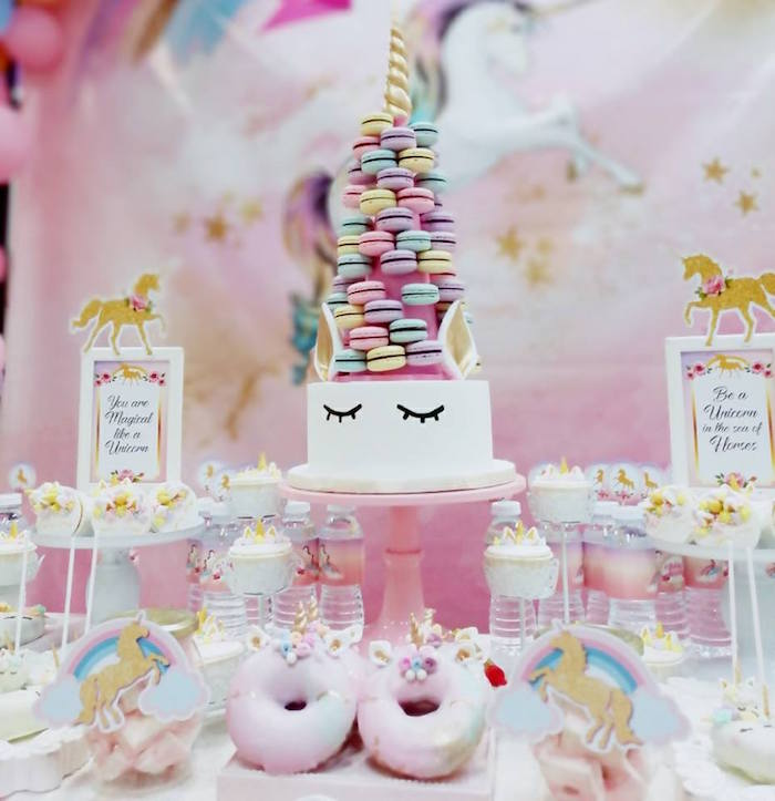 Pretty Pink Unicorn Birthday Party