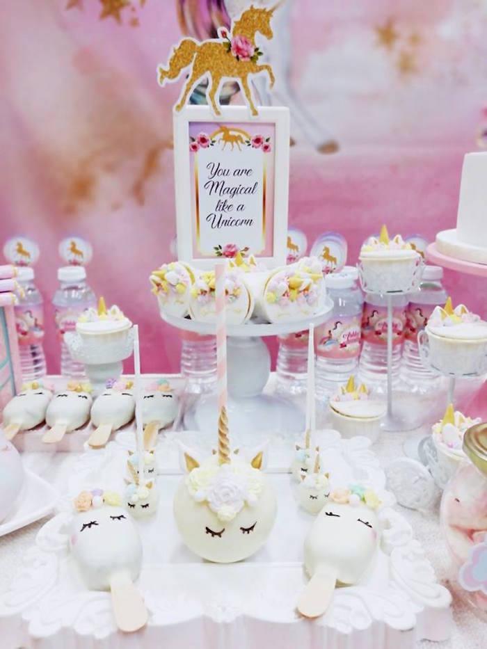 Pretty Pink Unicorn Birthday Party on Kara's Party Ideas | KarasPartyIdeas.com (7)