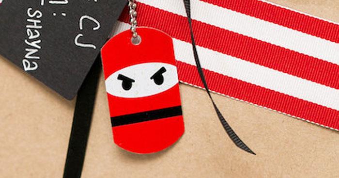 Red, White & Black Ninja Birthday Party on Kara's Party Ideas | KarasPartyIdeas.com (1)