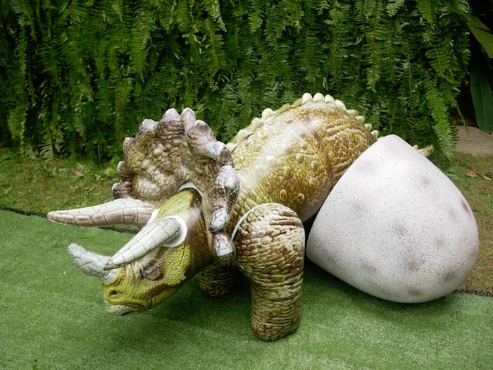 Triceratops Nest from a Roaring Dinosaur Birthday Party on Kara's Party Ideas | KarasPartyIdeas.com (11)