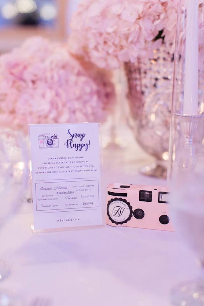 Snapshot Camera from a Romantic White Wedding on Kara's Party Ideas | KarasPartyIdeas.com (17)