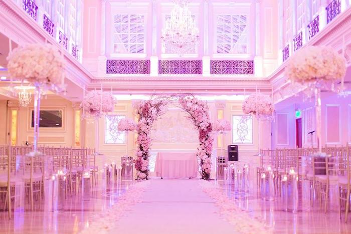 Romantic White Wedding on Kara's Party Ideas   KarasPartyIdeas.com (7)