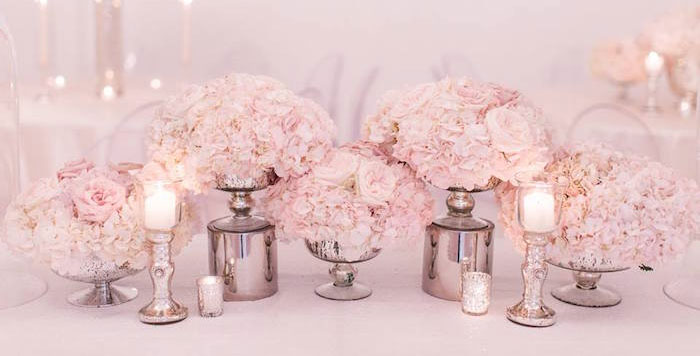Romantic White Wedding on Kara's Party Ideas | KarasPartyIdeas.com (4)