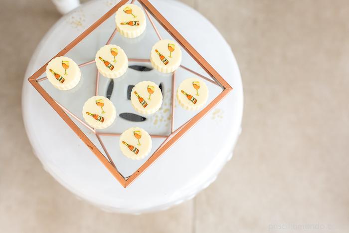 Oreos from a Rosé All Day Glamorous Birthday Party on Kara's Party Ideas | KarasPartyIdeas.com (14)