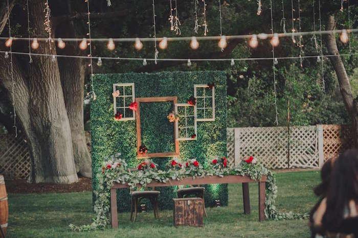 Head table from a Sendi Wedding Party on Kara's Party Ideas | KarasPartyIdeas.com (11)
