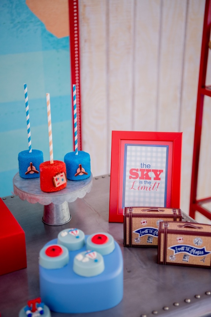 Kara S Party Ideas Sky Is The Limit Hot Air Balloon