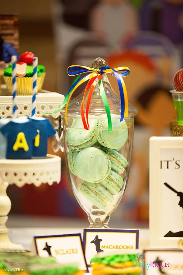 Sporty Cricket Themed Birthday Party on Kara's Party Ideas | KarasPartyIdeas.com (23)