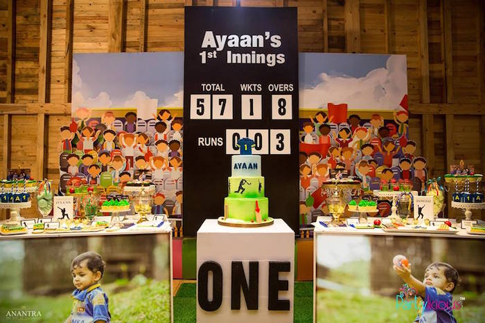 Sporty Cricket Themed Birthday Party on Kara's Party Ideas | KarasPartyIdeas.com (19)
