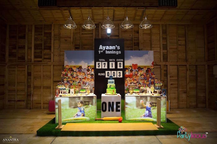 Sporty Cricket Themed Birthday Party on Kara's Party Ideas | KarasPartyIdeas.com (16)