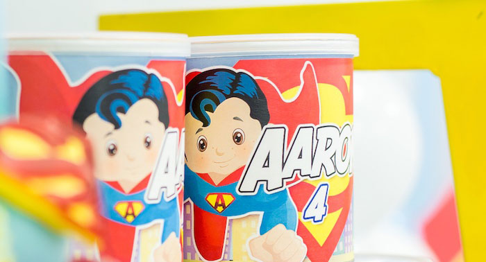 Superman Birthday Party on Kara's Party Ideas | KarasPartyIdeas.com (1)