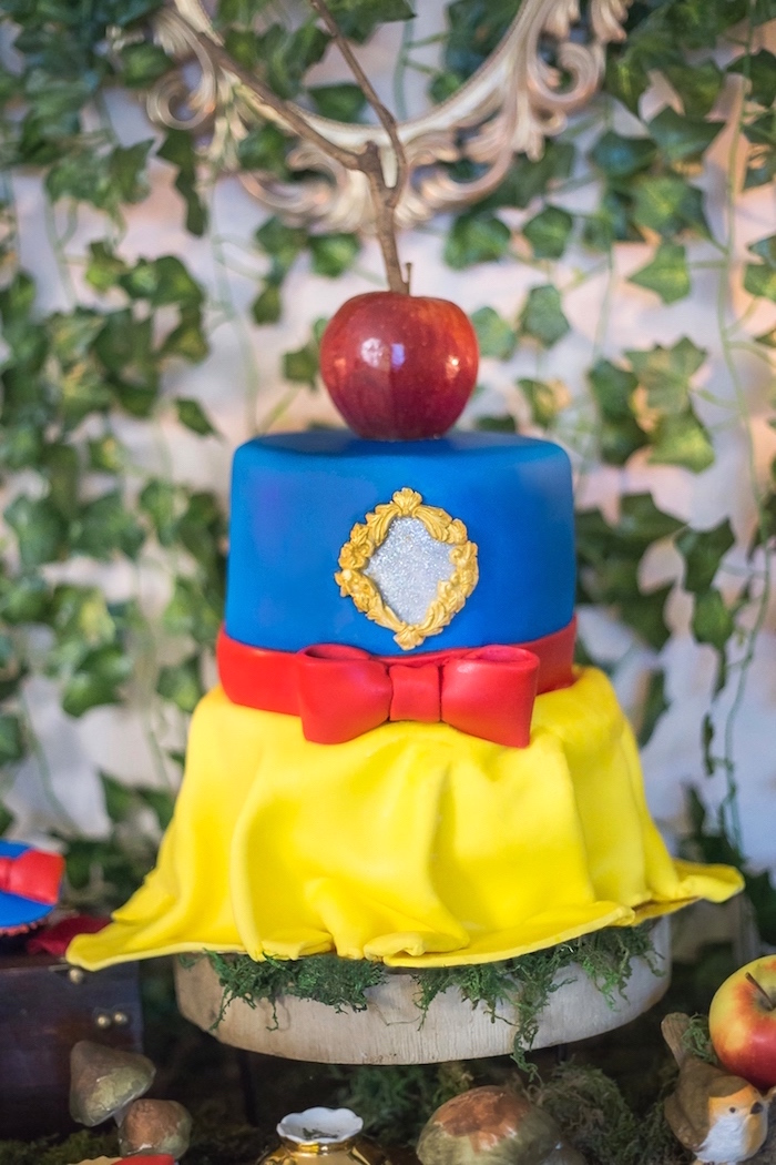 96775e5854a Kara s Party Ideas Sweet Snow White Birthday Party