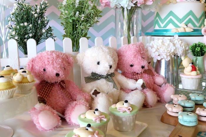 Teddy Bears from a Teddy Bear Birthday Party on Kara's Party Ideas   KarasPartyIdeas.com (7)