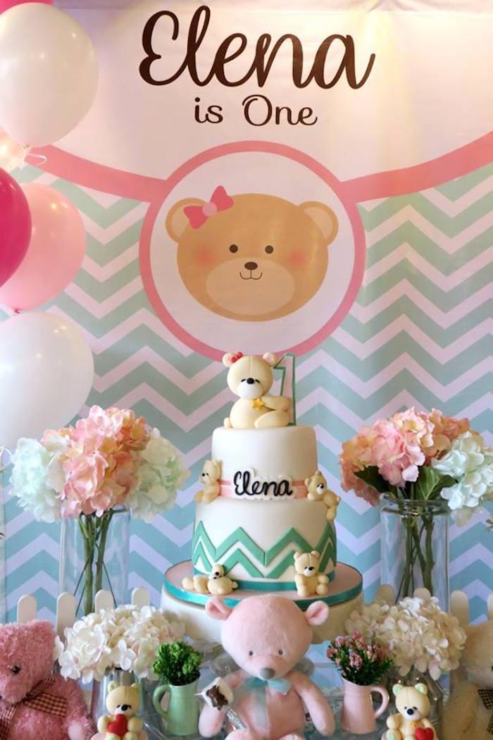 Teddy Bear Birthday Party on Kara's Party Ideas   KarasPartyIdeas.com (18)