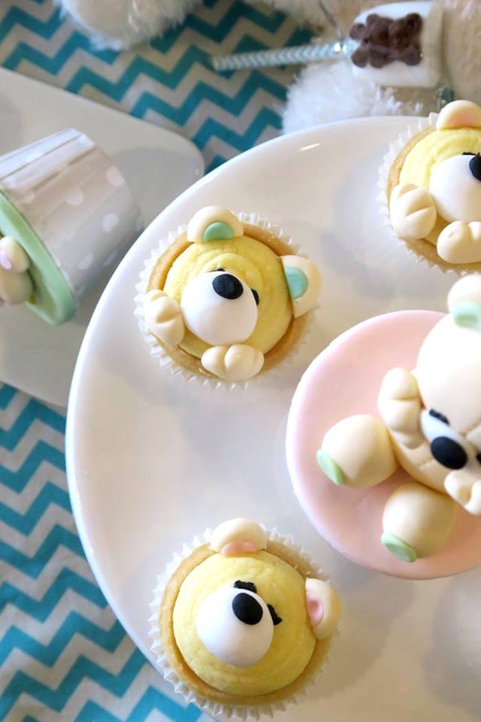 Teddy Bear Tarts from a Teddy Bear Birthday Party on Kara's Party Ideas | KarasPartyIdeas.com (16)