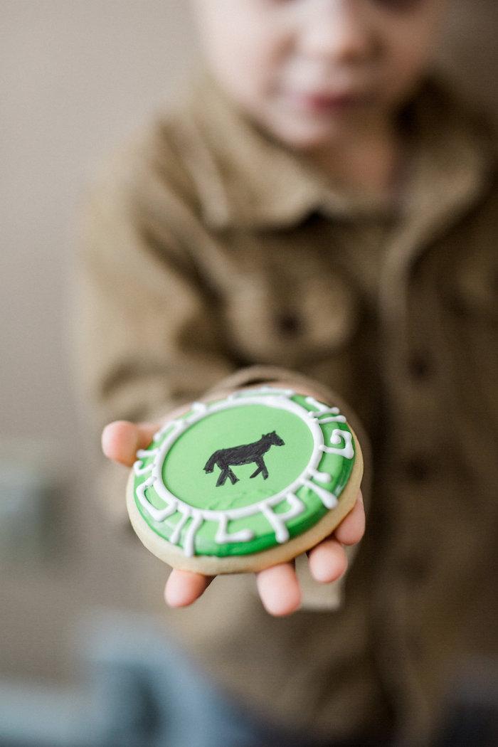Sugar Cookie from a Wild Kratts Animal Birthday Party on Kara's Party Ideas | KarasPartyIdeas.com (5)