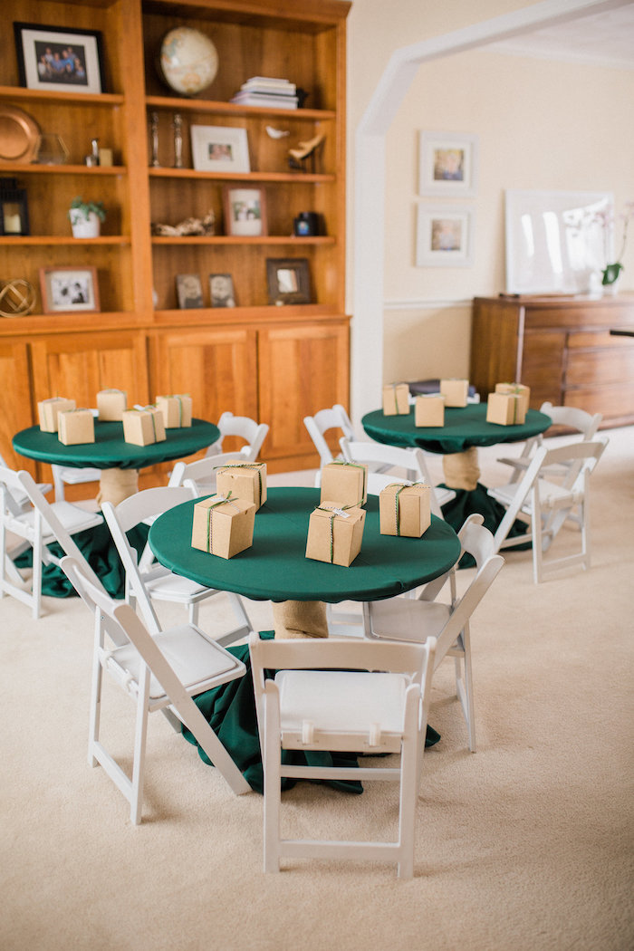 Guest tables from a Wild Kratts Animal Birthday Party on Kara's Party Ideas | KarasPartyIdeas.com (17)