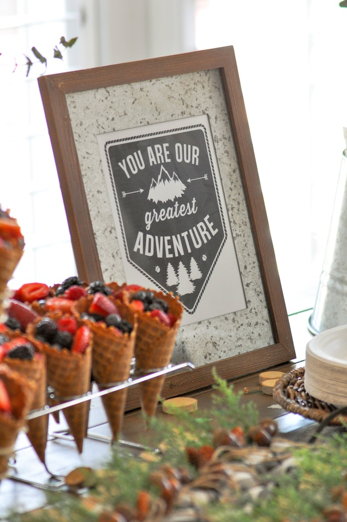 Rustic Baby Shower Favors