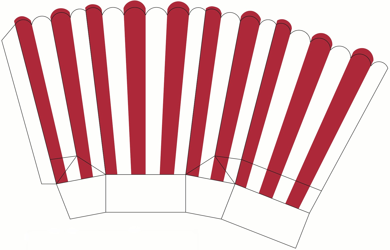 This is a graphic of Insane Printable Popcorn Box