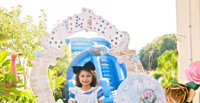 Alice in Wonderland Birthday Party on Kara's Party Ideas | KarasPartyIdeas.com