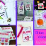 18 Non-Candy Valentines Ideas | Kara's Party Ideas #valentines2018 #valentineideas