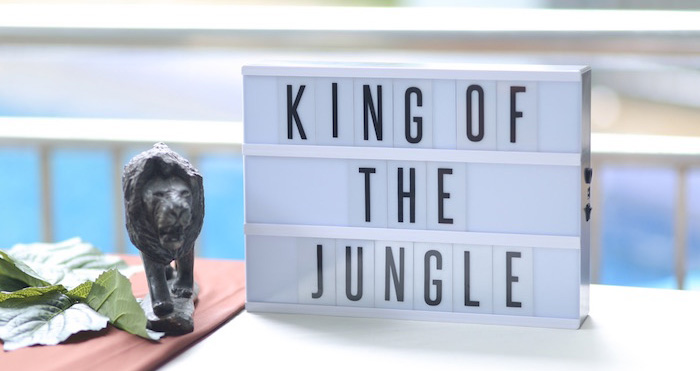 """King of the Jungle"" Birthday Party on Kara's Party Ideas 