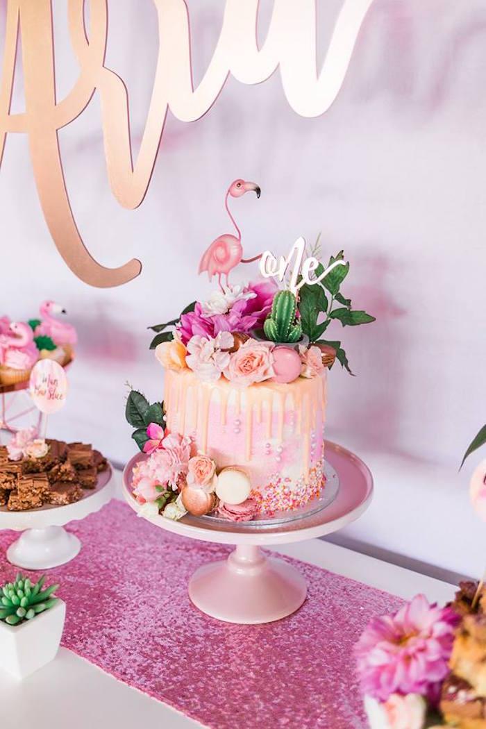 Kara S Party Ideas Quot Let S Flamingle Quot Tropical Flamingo