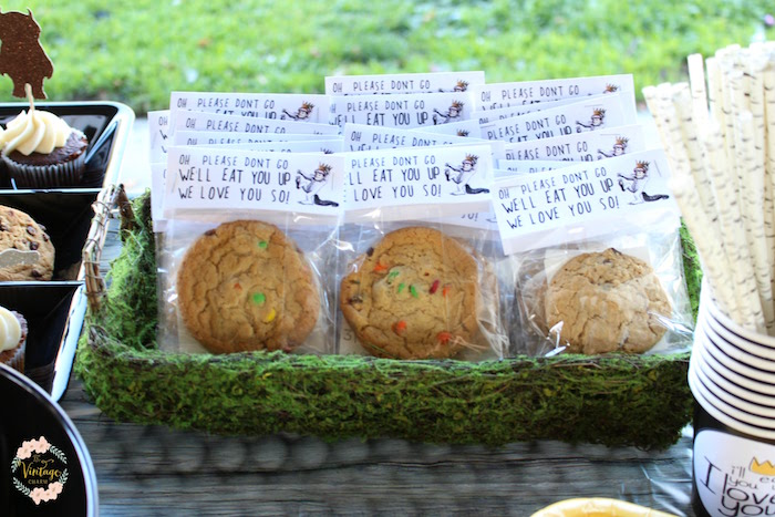 "Cookie Favors from a ""Where the Wild Things Are"" Birthday Party on Kara's Party Ideas 