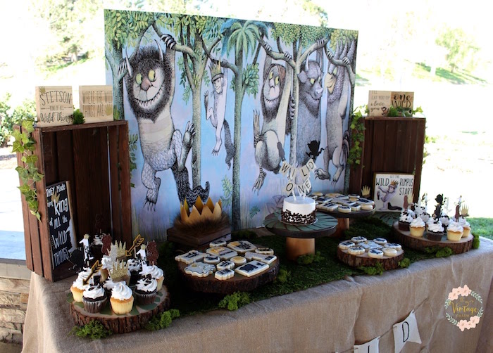Karas Party Ideas Where The Wild Things Are Birthday Party