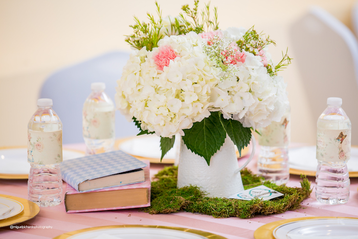 Table Centerpiece from an Alice in Wonderland Tea Party on Kara's Party Ideas | KarasPartyIdeas.com (32)