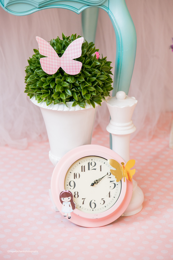 Alice in Wonderland Themed Decor from an Alice in Wonderland Tea Party on Kara's Party Ideas | KarasPartyIdeas.com (19)