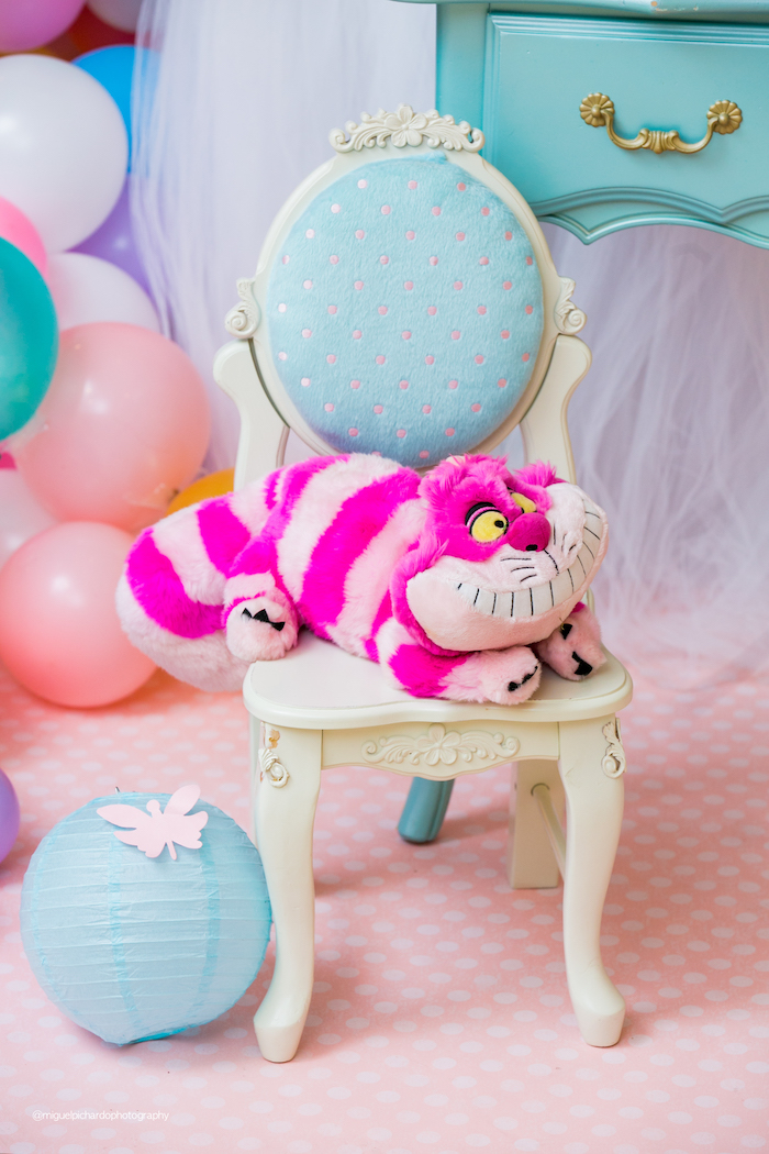 Cheshire Cat from an Alice in Wonderland Tea Party on Kara's Party Ideas | KarasPartyIdeas.com (18)