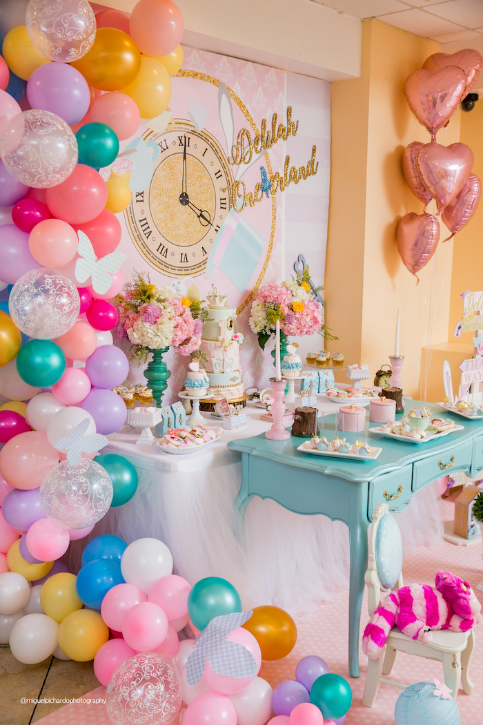 Alice in Wonderland Tea Party on Kara's Party Ideas | KarasPartyIdeas.com (8)