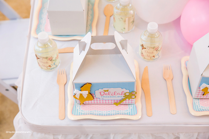 Gable Box Table Setting from an Alice in Wonderland Tea Party on Kara's Party Ideas | KarasPartyIdeas.com (39)