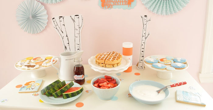 Brother and Sister Day Party on Kara's Party Ideas | KarasPartyIdeas.com (4)