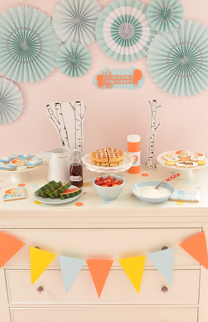Brother and Sister Day Party on Kara's Party Ideas | KarasPartyIdeas.com (17)