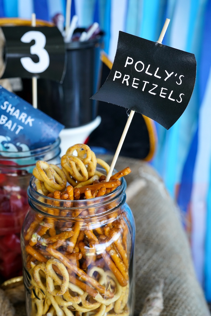 Polly's Pretzels from a Classic Pirate Birthday Party on Kara's Party Ideas | KarasPartyIdeas.com (18)