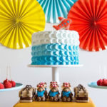 Colorful Aviator Birthday Party on Kara's Party Ideas | KarasPartyIdeas.com (2)