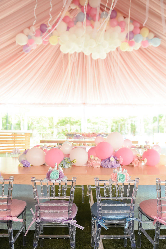 Dream, Believe & Wish Pastel Unicorn Birthday Party on Kara's Party Ideas | KarasPartyIdeas.com (19)