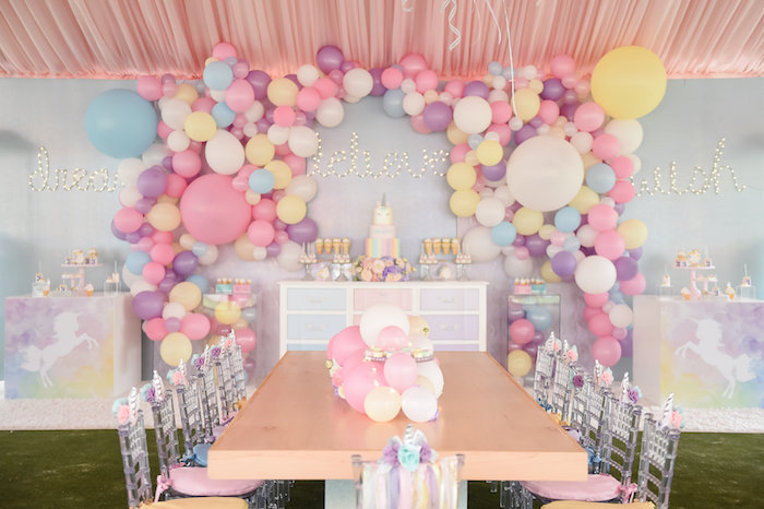 Dream, Believe & Wish Pastel Unicorn Birthday Party on Kara's Party Ideas | KarasPartyIdeas.com (17)