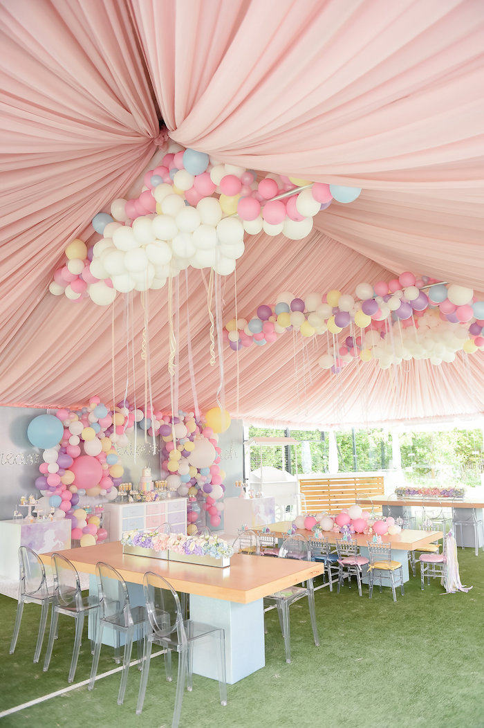 Kara S Party Ideas Dream Believe Amp Wish Pastel Unicorn
