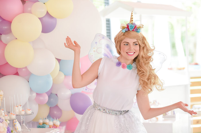Dream, Believe & Wish Pastel Unicorn Birthday Party on Kara's Party Ideas | KarasPartyIdeas.com (14)
