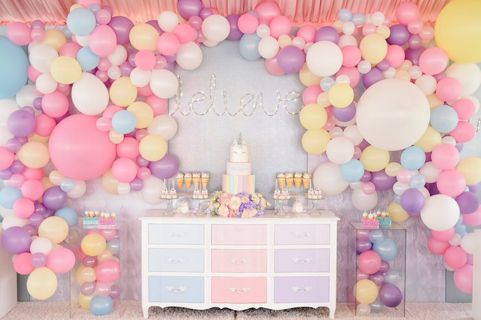 Dream, Believe & Wish Pastel Unicorn Birthday Party on Kara's Party Ideas | KarasPartyIdeas.com (31)