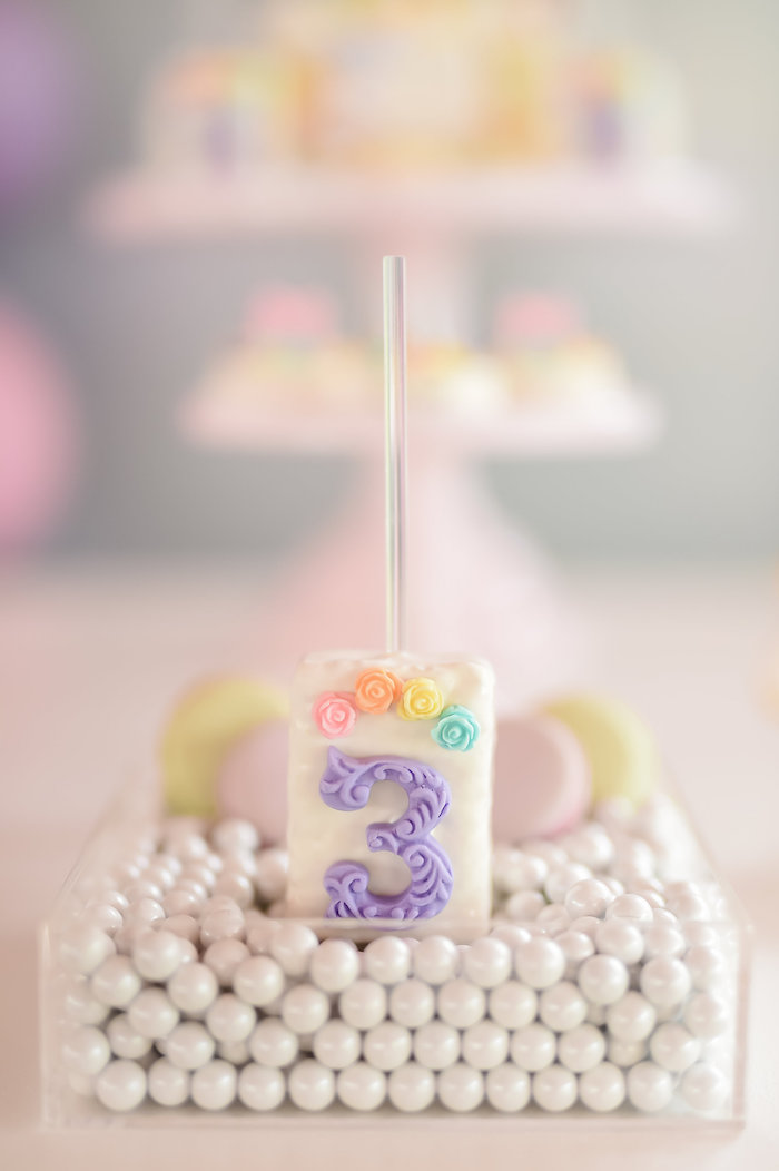 Dream, Believe & Wish Pastel Unicorn Birthday Party on Kara's Party Ideas | KarasPartyIdeas.com (12)