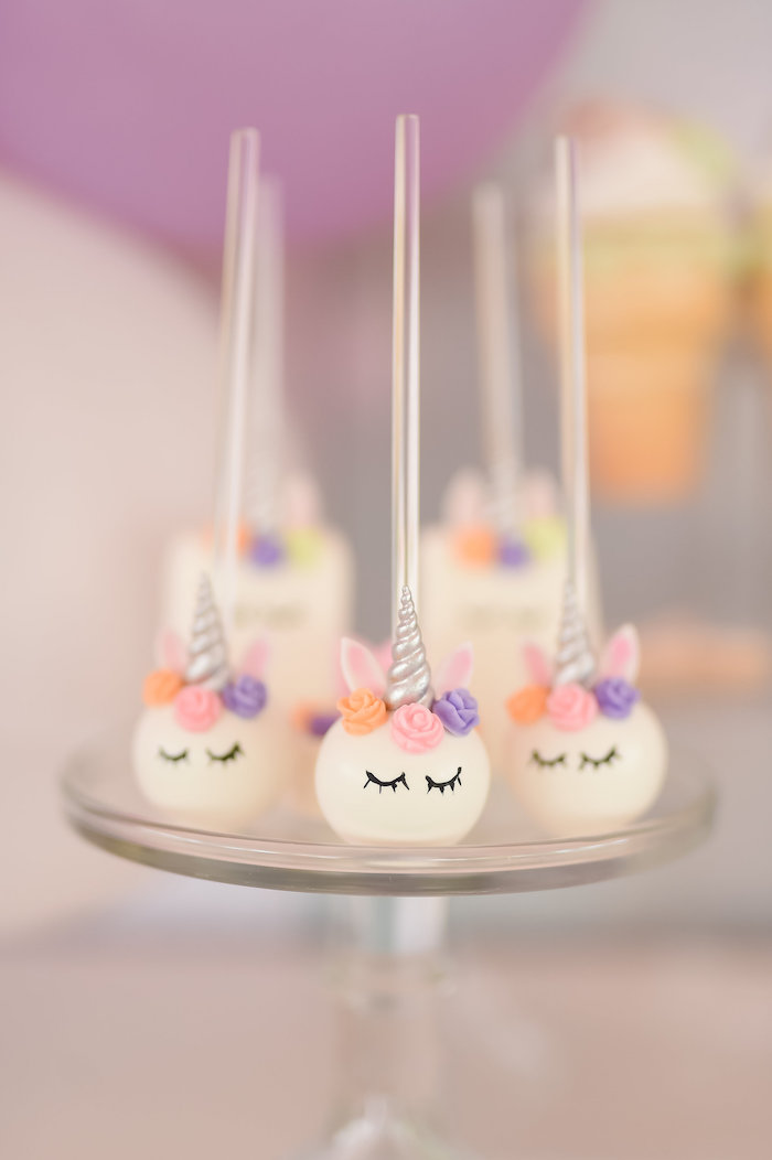 Dream, Believe & Wish Pastel Unicorn Birthday Party on Kara's Party Ideas | KarasPartyIdeas.com (8)