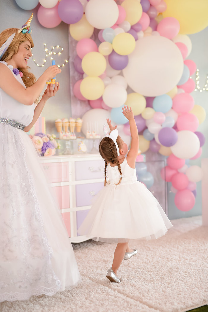 Dream, Believe & Wish Pastel Unicorn Birthday Party on Kara's Party Ideas | KarasPartyIdeas.com (5)
