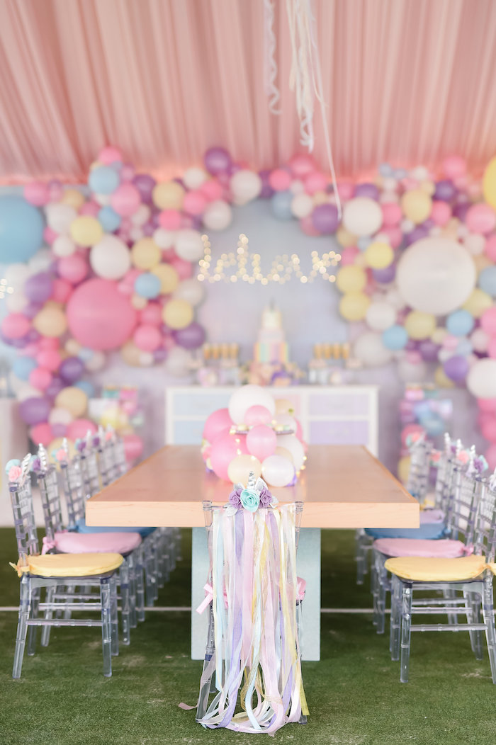 Dream, Believe & Wish Pastel Unicorn Birthday Party on Kara's Party Ideas | KarasPartyIdeas.com (26)