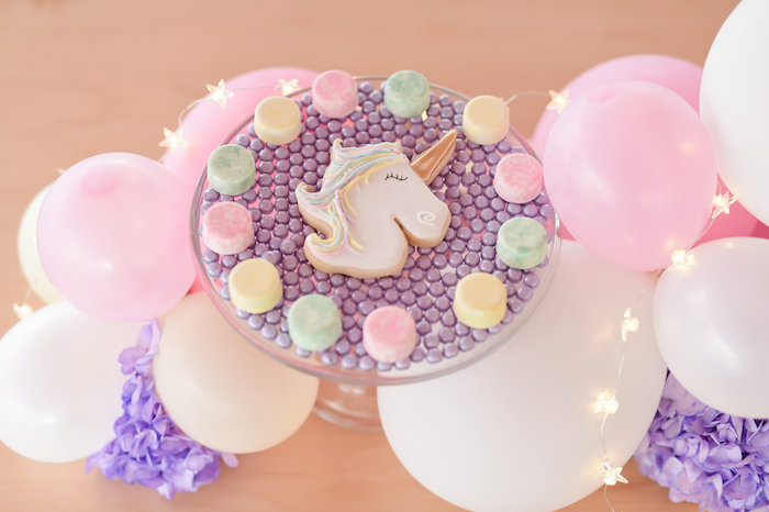 Dream, Believe & Wish Pastel Unicorn Birthday Party on Kara's Party Ideas | KarasPartyIdeas.com (24)
