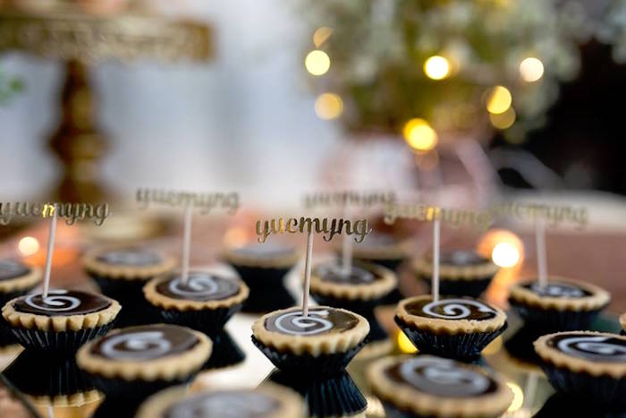 Tarts from an Elegant 21st Birthday Party on Kara's Party Ideas | KarasPartyIdeas.com (7)