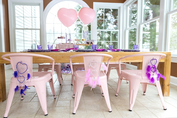 Boho V-Day Guest Table from an Elegant Bohemian Valentine's Day Party on Kara's Party Ideas | KarasPartyIdeas.com (15)